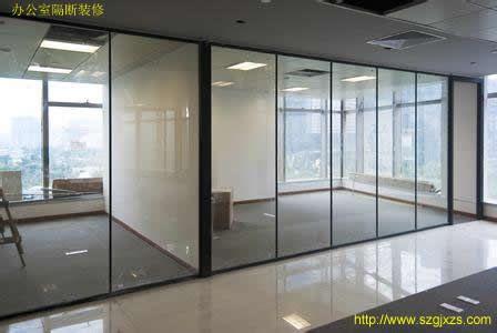 办公室装修隔断用玻璃的好处